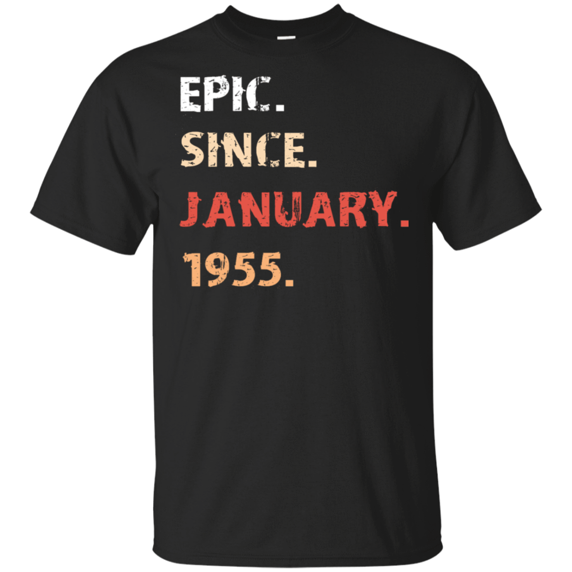Epic Since January 1955 Birthday Gift 22-113-71482161-252 - Tee Ript