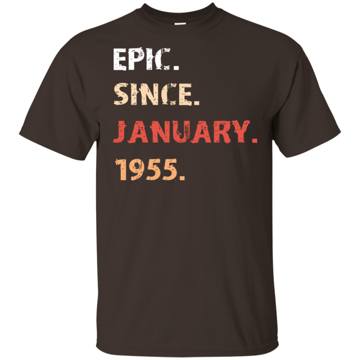 Epic Since January 1955 Birthday Gift 22-2283-71482161-12087 - Tee Ript