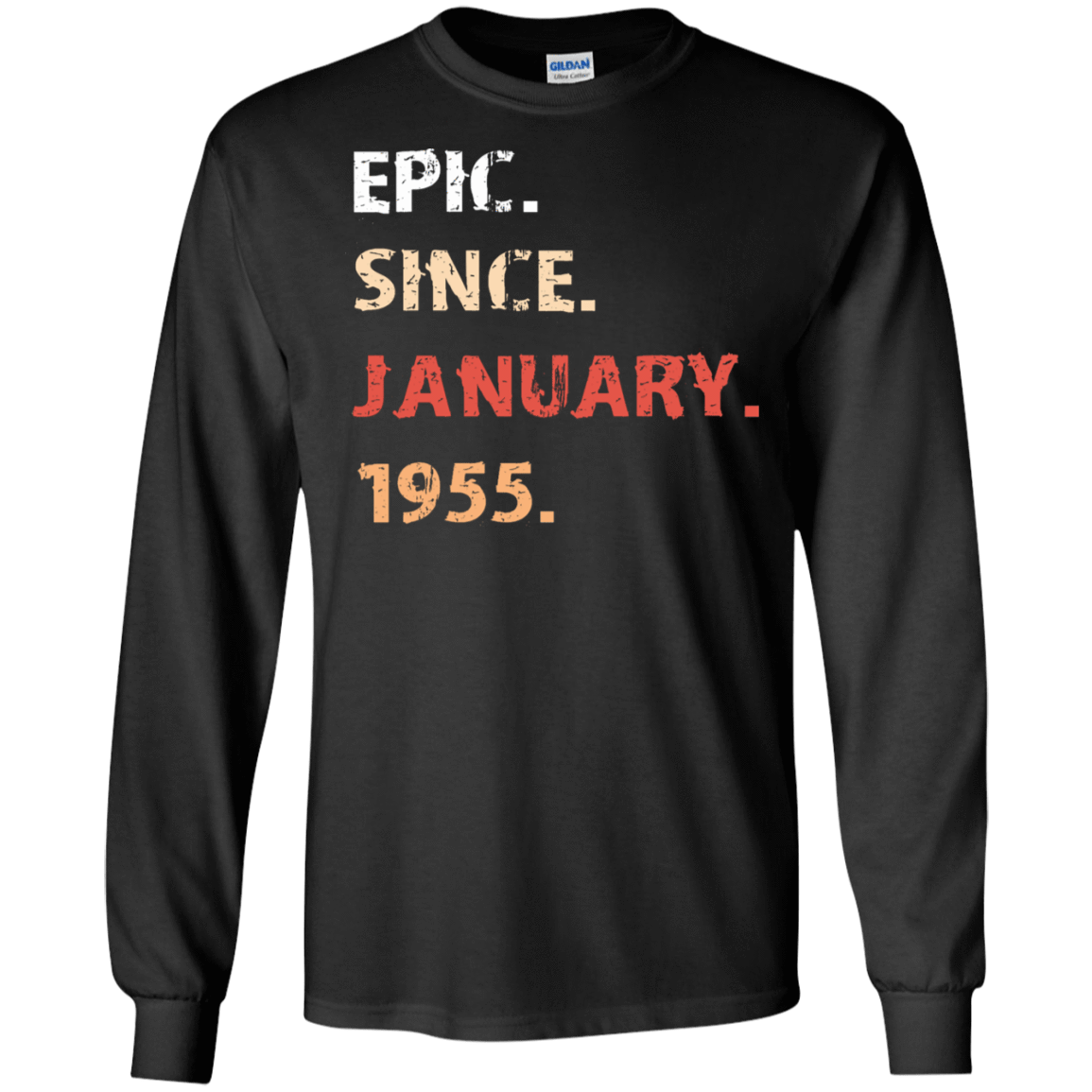 Epic Since January 1955 Birthday Gift 30-186-71482162-333 - Tee Ript