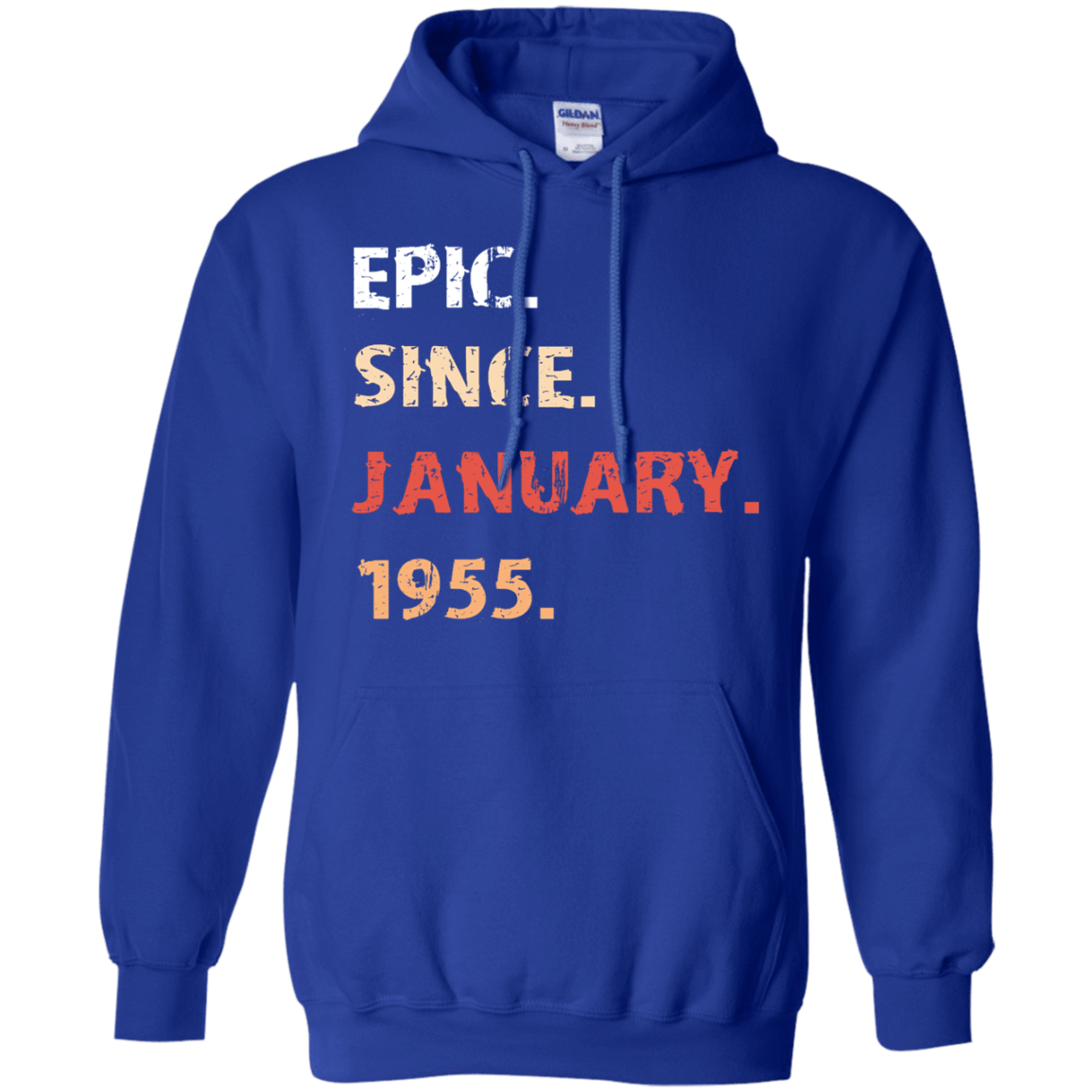 Epic Since January 1955 Birthday Gift 541-4765-71482163-23175 - Tee Ript