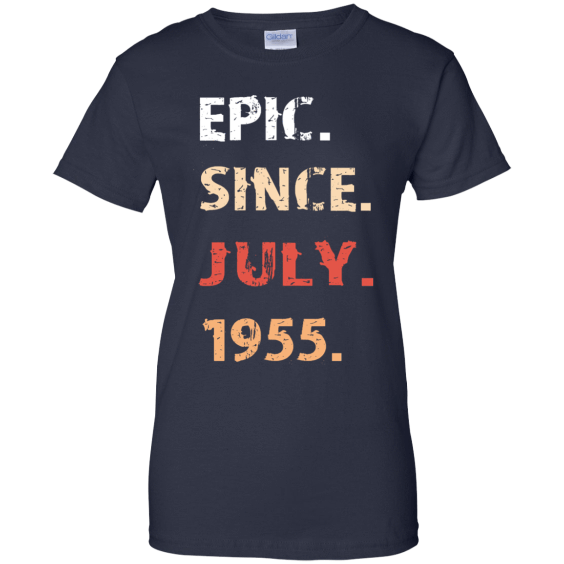 Epic Since July 1955 Birthday Gift 939-9259-71482156-44765 - Tee Ript