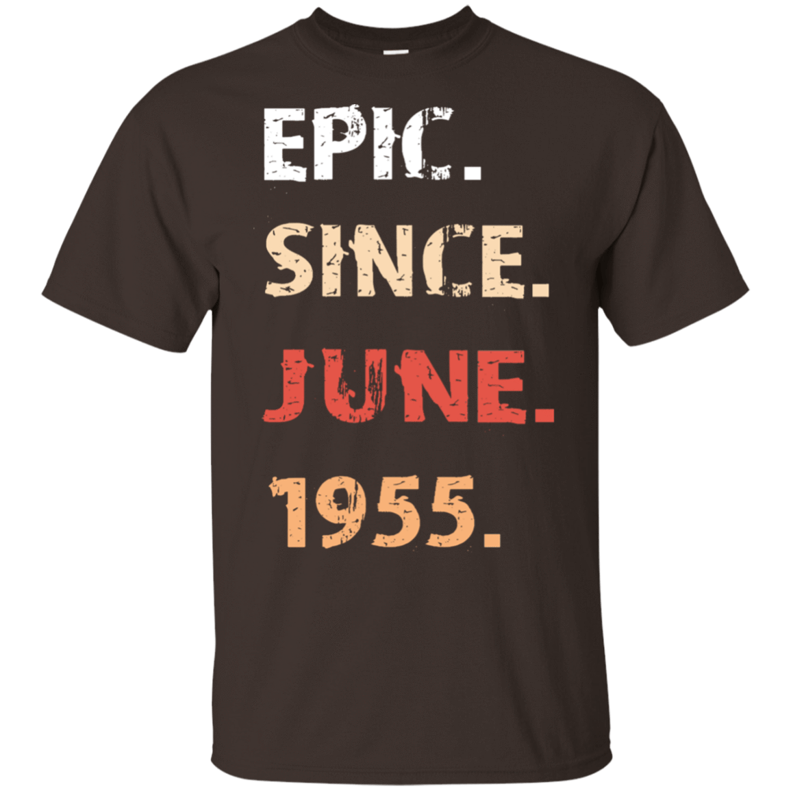 Epic Since June 1955 Birthday Gift 22-2283-71482149-12087 - Tee Ript