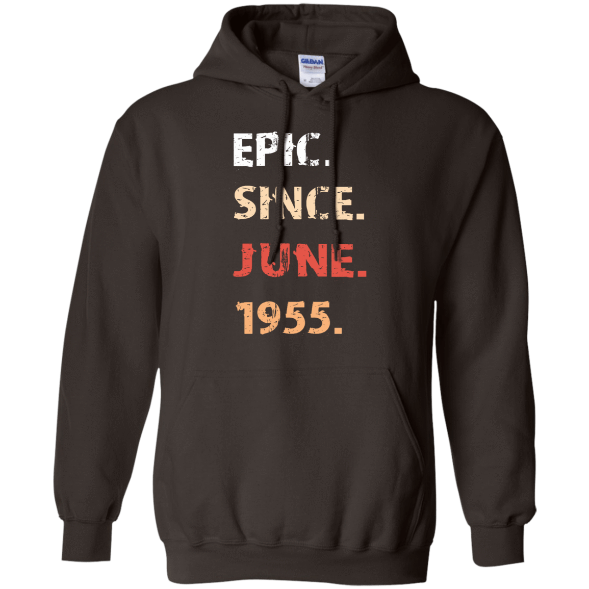 Epic Since June 1955 Birthday Gift 541-4752-71482151-23095 - Tee Ript