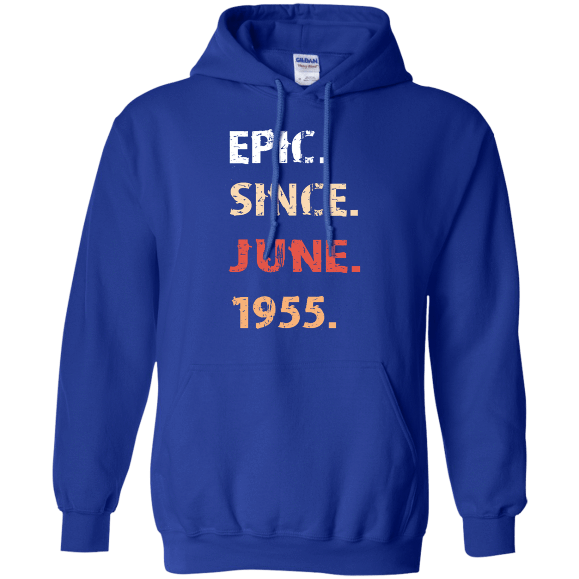 Epic Since June 1955 Birthday Gift 541-4765-71482151-23175 - Tee Ript