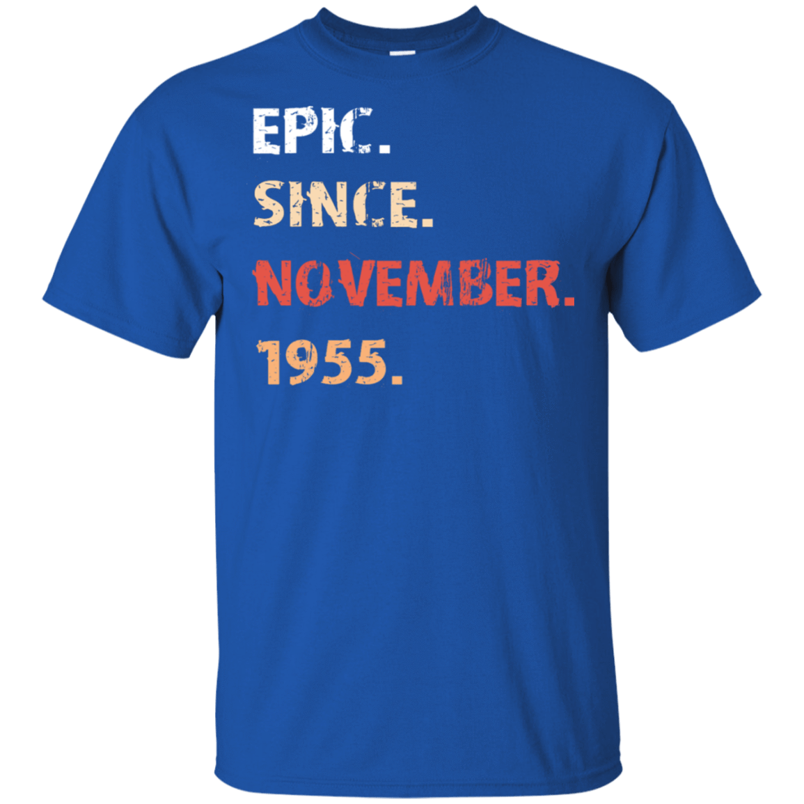 Epic Since November 1955 Birthday Gift 22-110-71482137-249 - Tee Ript