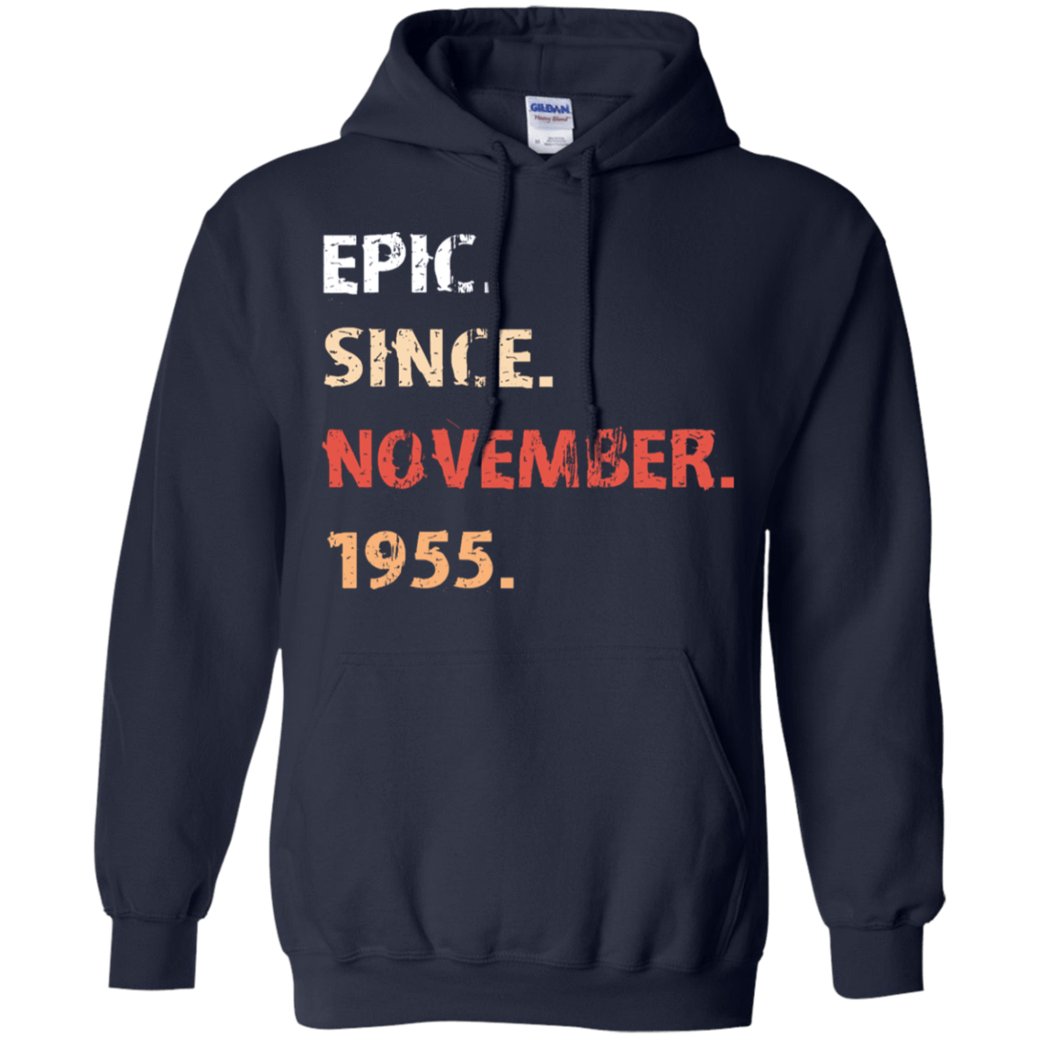 Epic Since November 1955 Birthday Gift 541-4742-71482139-23135 - Tee Ript