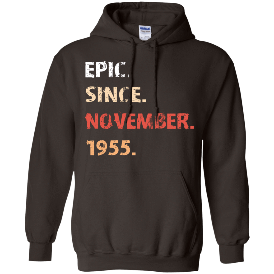 Epic Since November 1955 Birthday Gift 541-4752-71482139-23095 - Tee Ript