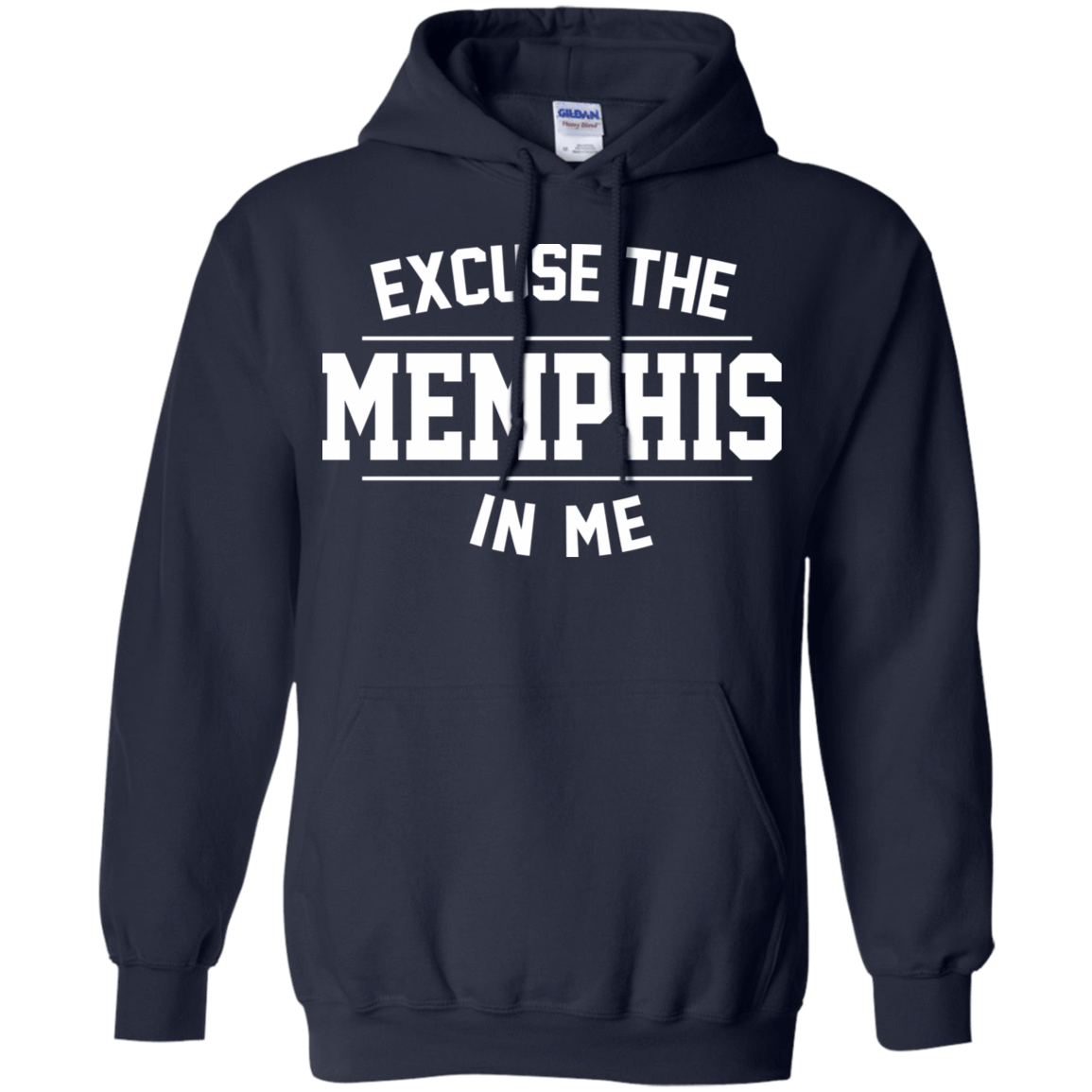 Excuse The Memphis In Me 541-4742-73547959-23135 - Tee Ript