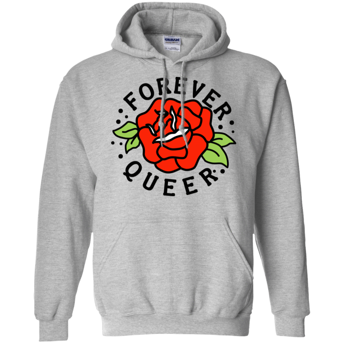 Forever Queer Rose 541-4741-73547903-23111 - Tee Ript
