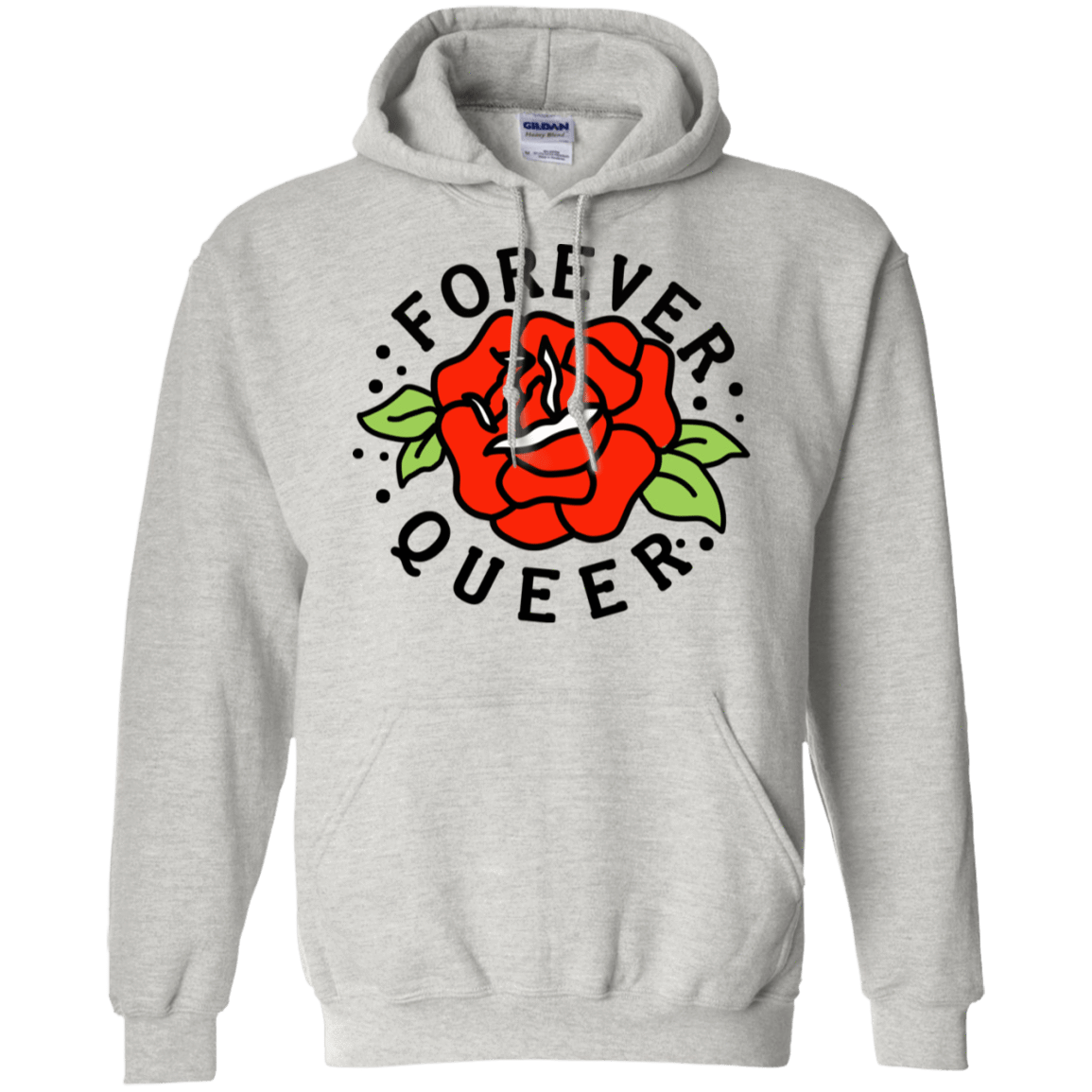 Forever Queer Rose 541-4748-73547903-23071 - Tee Ript