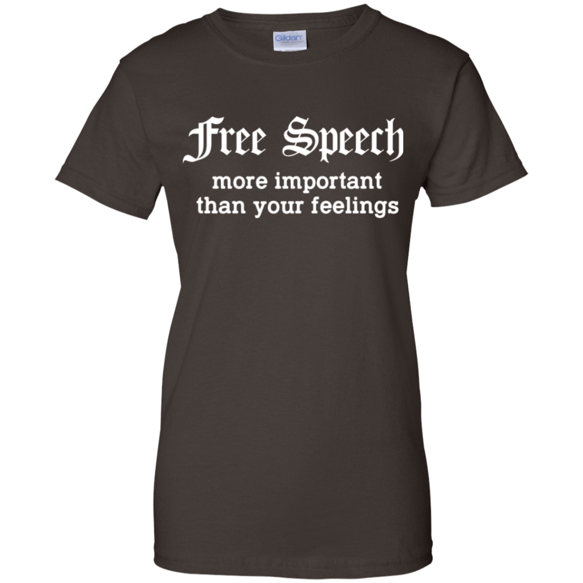 Free Speech More Important Than Your Feelings 939-9251-74209400-44702 - Tee Ript