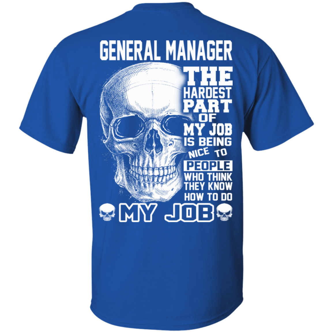 General Manager The Hardest Part Of My Job 22-110-71609227-249 - Tee Ript