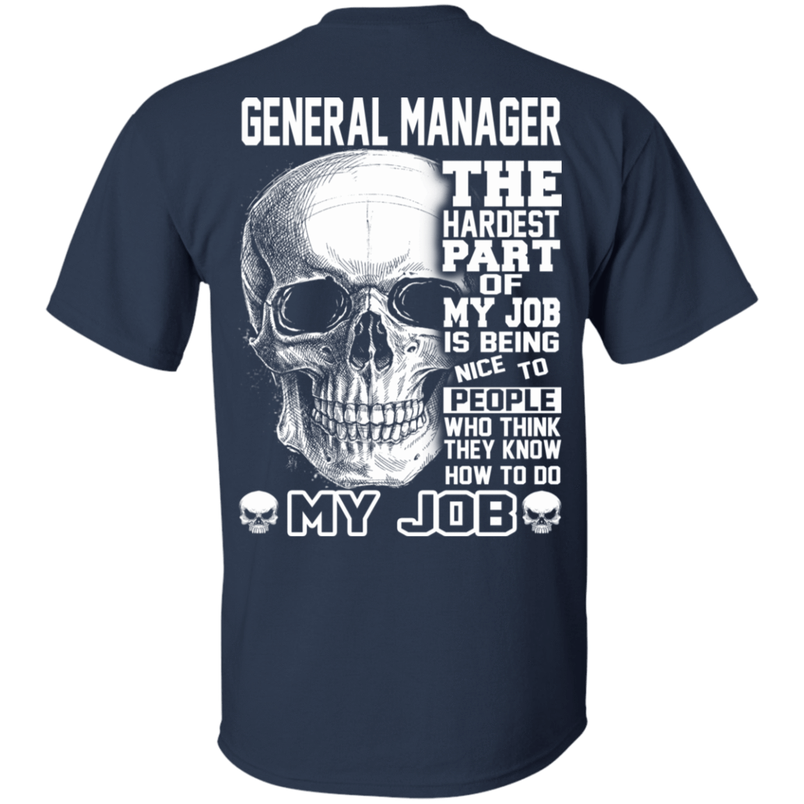 General Manager The Hardest Part Of My Job 22-111-71609227-250 - Tee Ript