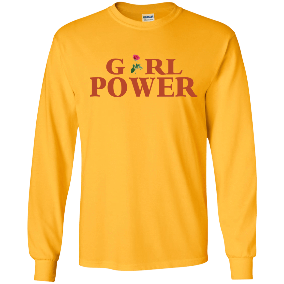 Girl Power Yellow 30-2108-73890287-10730 - Tee Ript