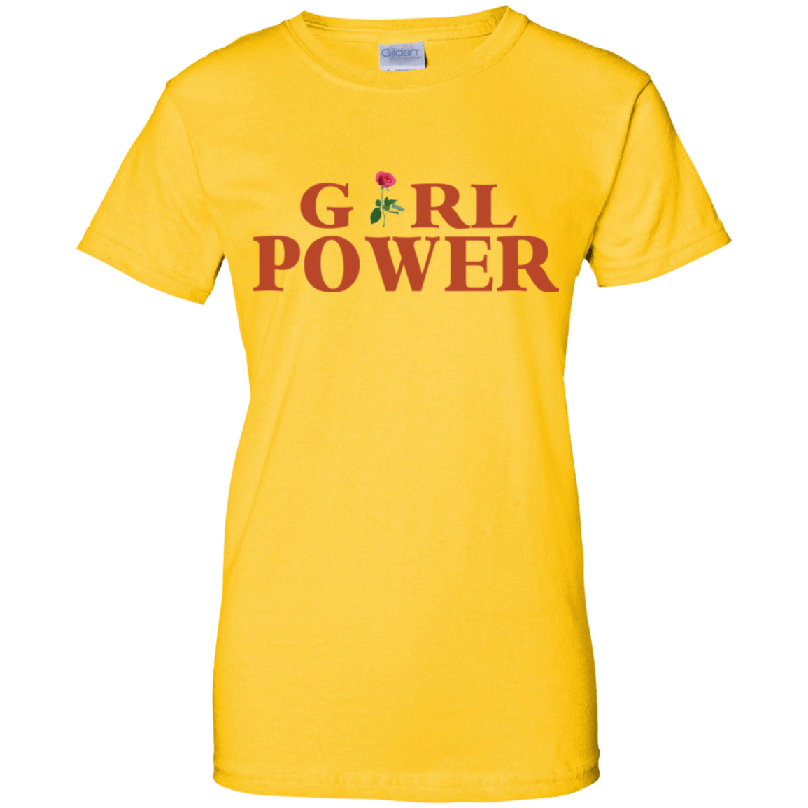 Girl Power Yellow 939-9250-73890289-44723 - Tee Ript