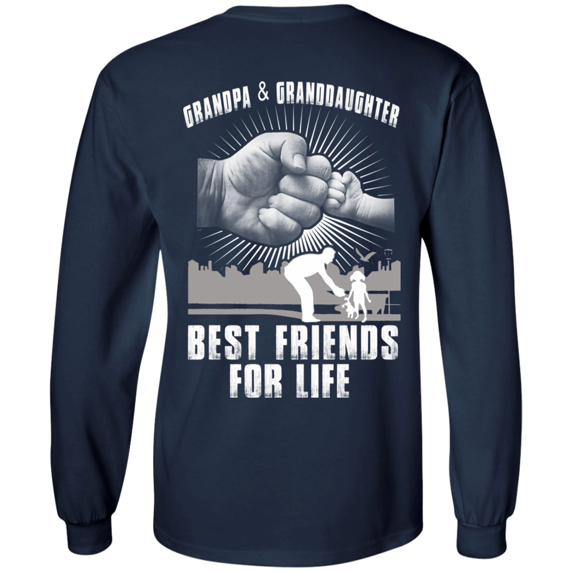 Grandpa And Granddaughter Best Friends For Life 30-184-71996240-331 - Tee Ript