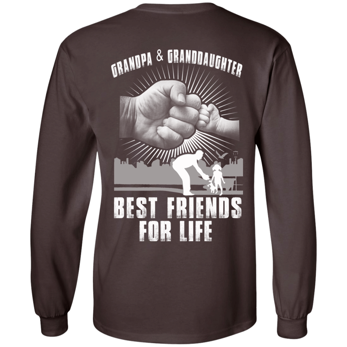 Grandpa And Granddaughter Best Friends For Life 30-2107-71996240-10724 - Tee Ript