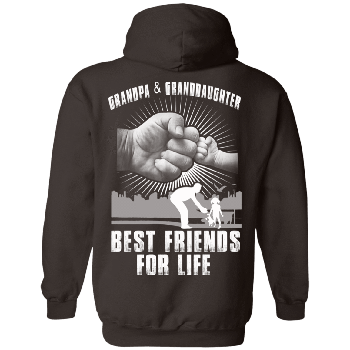 Grandpa And Granddaughter Best Friends For Life 541-4752-71996241-23095 - Tee Ript