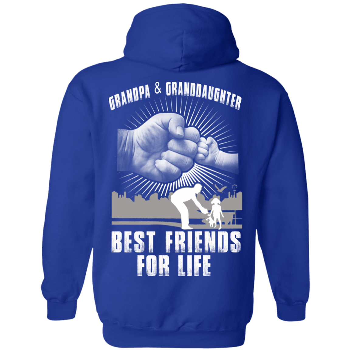 Grandpa And Granddaughter Best Friends For Life 541-4765-71996241-23175 - Tee Ript