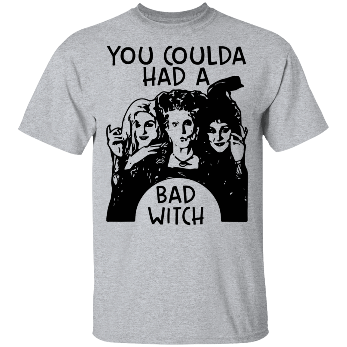 Hocus Pocus You Coulda Had A Bad Witch T-Shirts, Hoodies, Tank 22-115-79808439-254 - Tee Ript