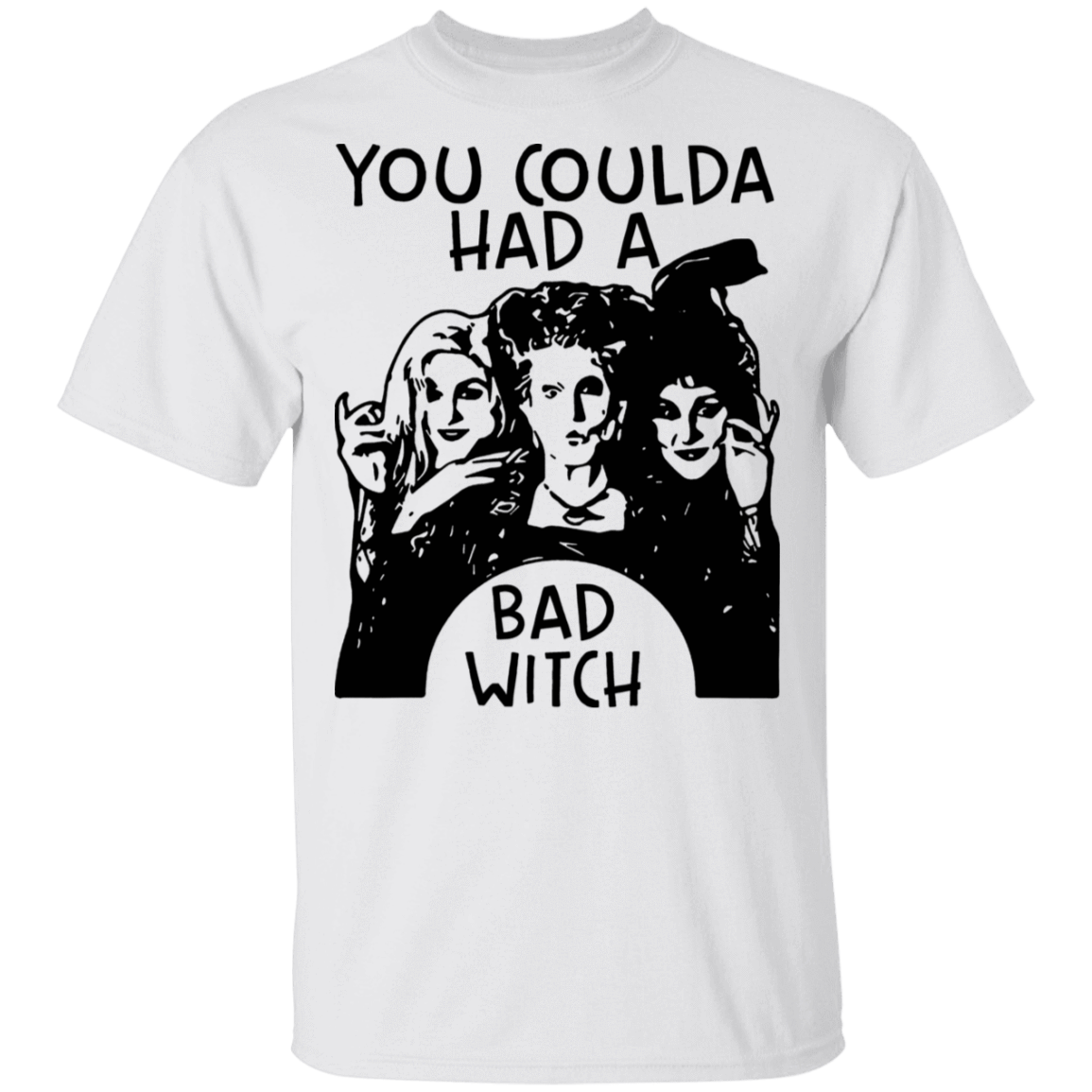 Hocus Pocus You Coulda Had A Bad Witch T-Shirts, Hoodies, Tank 22-114-79808439-253 - Tee Ript