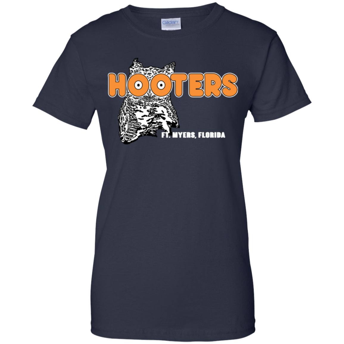 Hooters T-Shirts Fort Myers, Florida 939-9259-73155977-44765 - Tee Ript