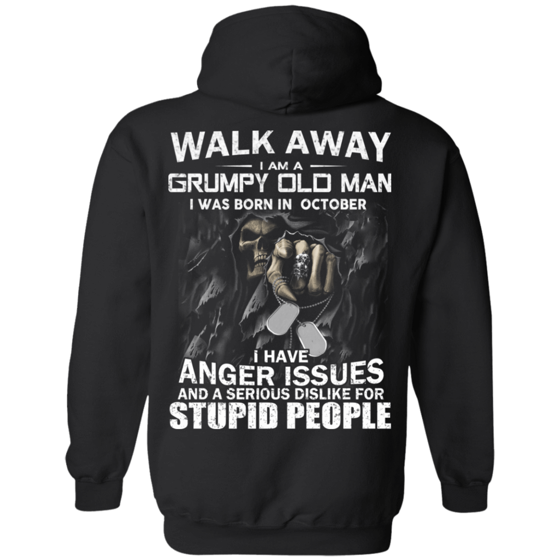 I Am A Grumpy Old Man I Was Born In October T-Shirts, Hoodies, Tank 541-4740-80564225-23087 - Tee Ript