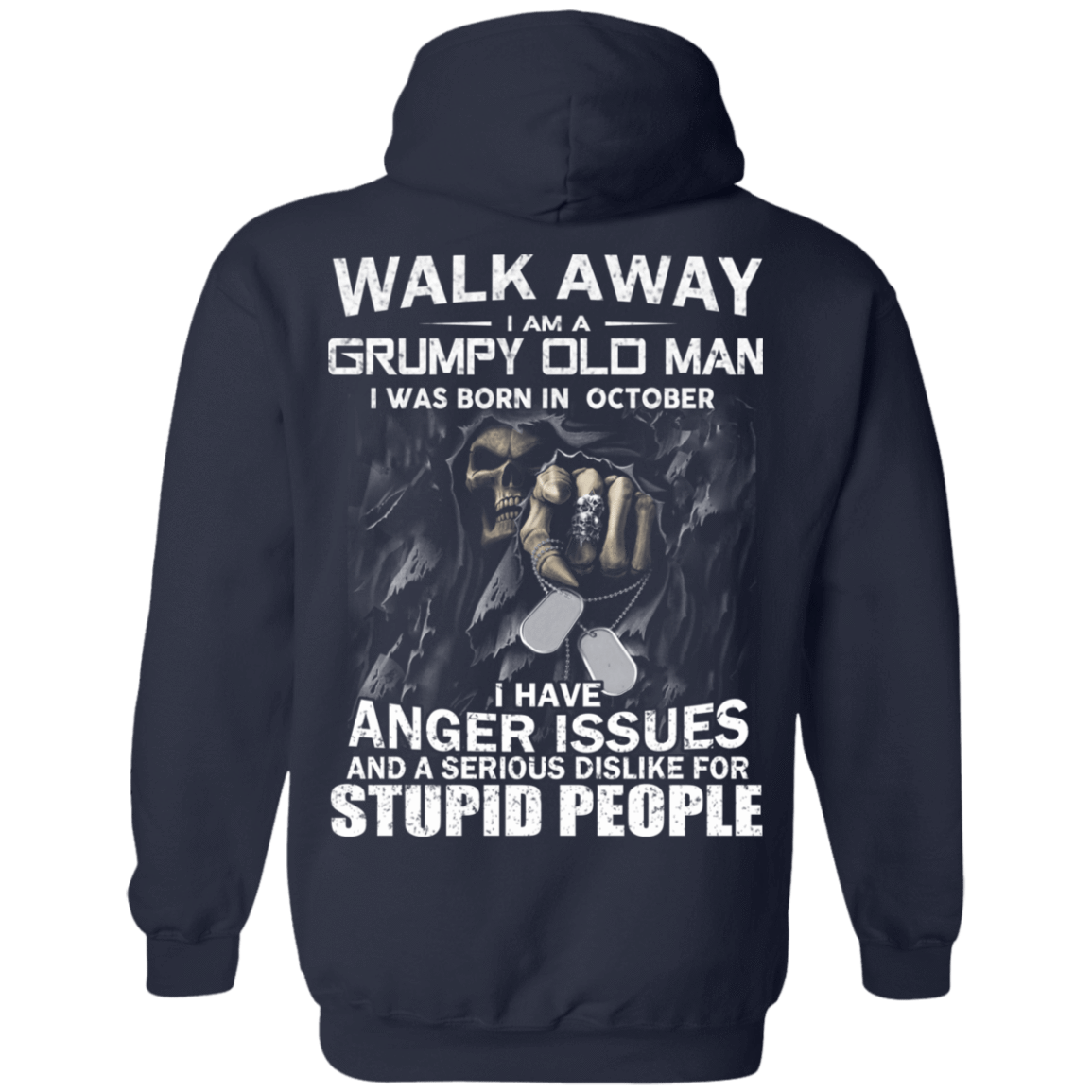 I Am A Grumpy Old Man I Was Born In October T-Shirts, Hoodies, Tank 541-4742-80564225-23135 - Tee Ript