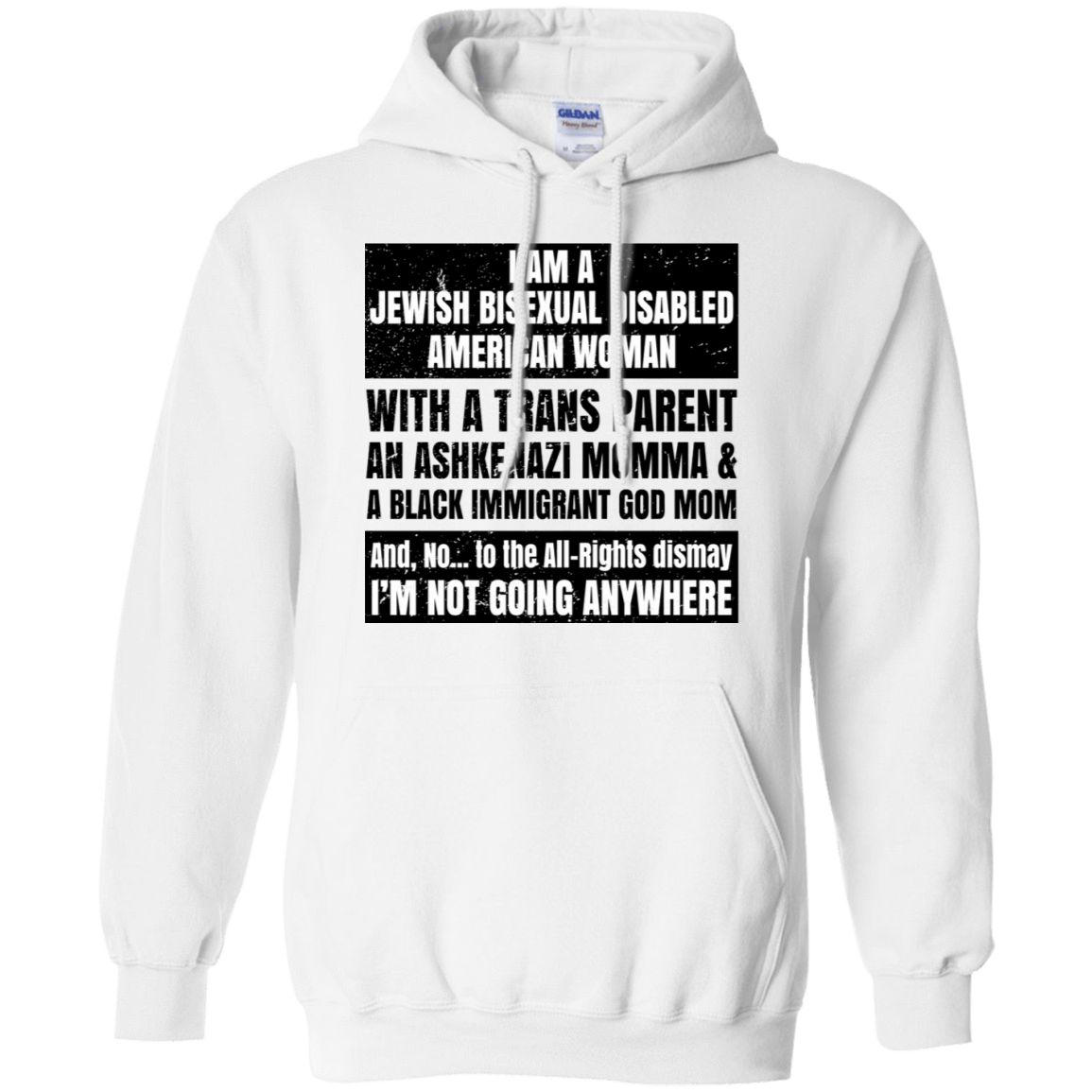 I Am A Jewish Bisexual Disabled American Woman T-Shirts & Hoodies 541-4744-76151488-23183 - Tee Ript