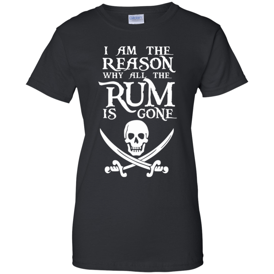 I Am The Reason Why All The Rum Is Gone 939-9248-73425466-44695 - Tee Ript
