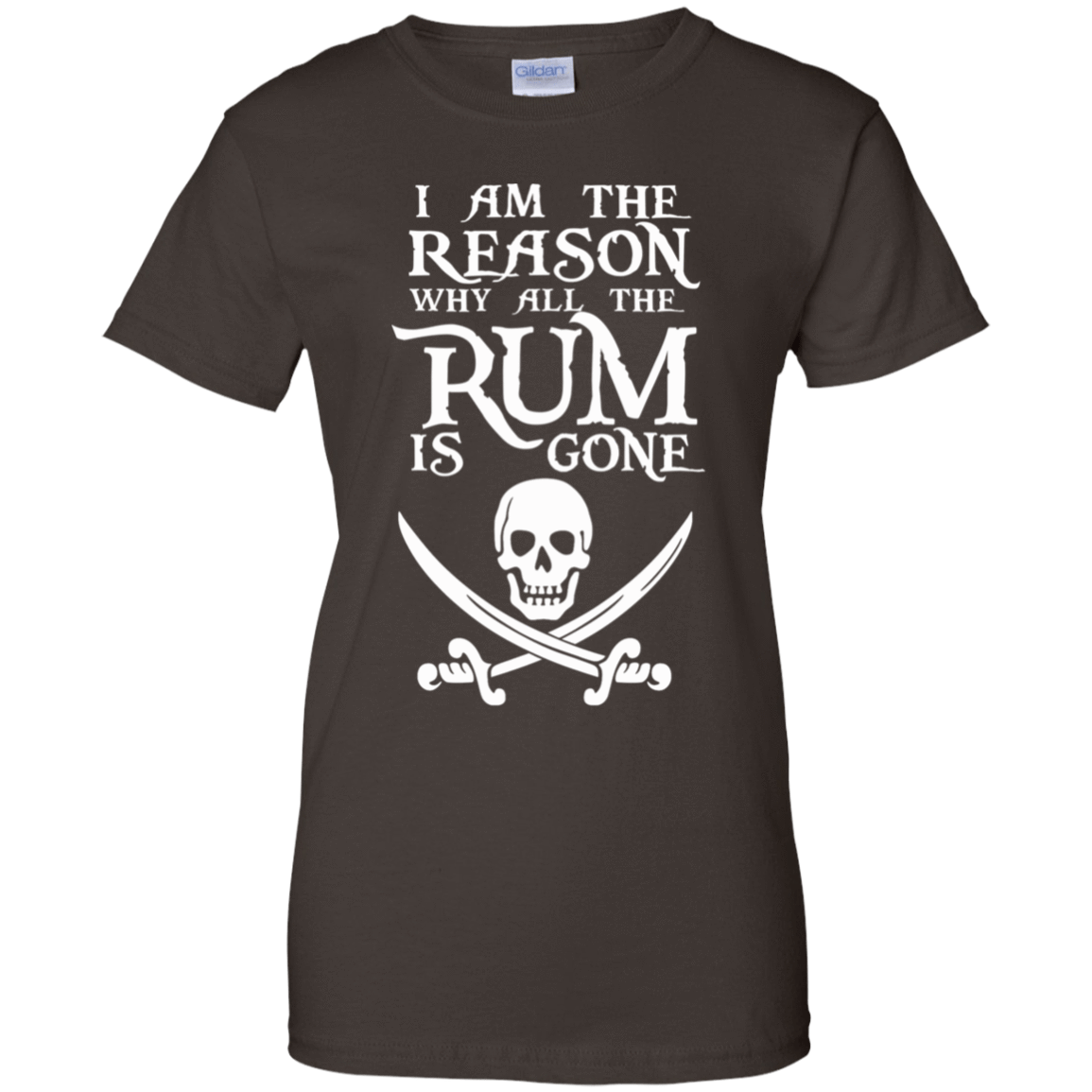 I Am The Reason Why All The Rum Is Gone 939-9251-73425466-44702 - Tee Ript