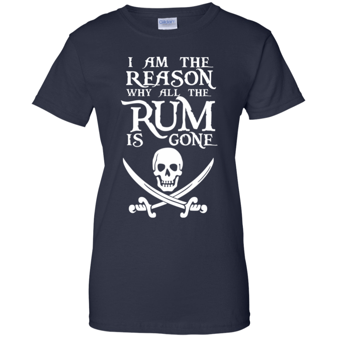I Am The Reason Why All The Rum Is Gone 939-9259-73425466-44765 - Tee Ript