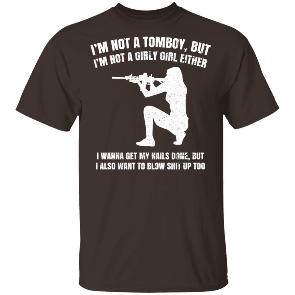 I'm Not A Tomboy But I'm Not A Girly Girl Either T-Shirts, Hoodies 1049-9956-87589181-48152 - Tee Ript