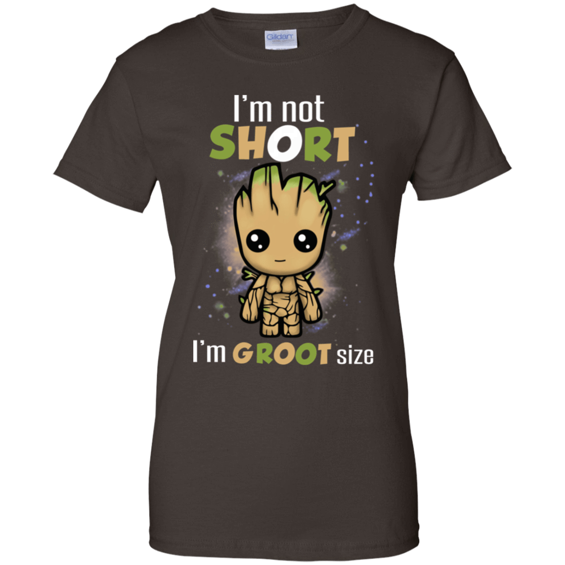 I'm Not Short I'm Groot Size 939-9251-73424171-44702 - Tee Ript