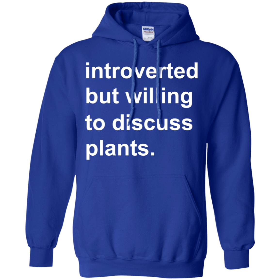 Introverted But Willing To Discuss Plants 541-4765-73889872-23175 - Tee Ript
