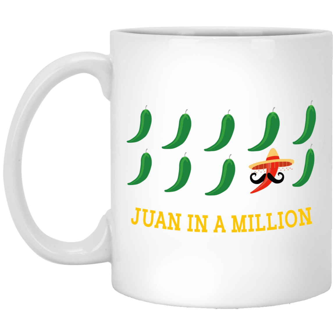 Juan In A Million Mug 1005-9786-72966292-47417 - Tee Ript