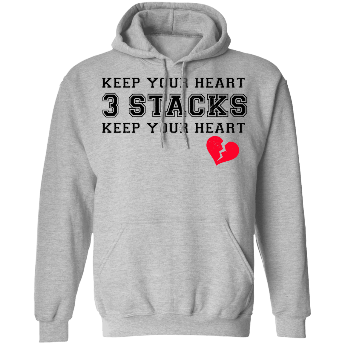Keep Your Heart 3 Stacks T-Shirts, Hoodies 541-4741-80183507-23111 - Tee Ript
