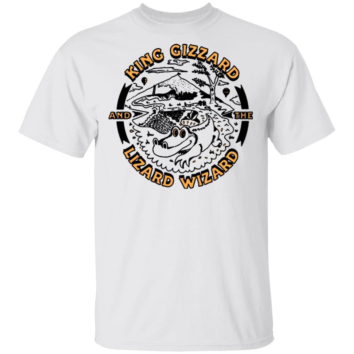 King Gizzard And The Lizard Wizard Gators Vintage T-Shirts, Hoodies 1049-9974-88477983-48300 - Tee Ript