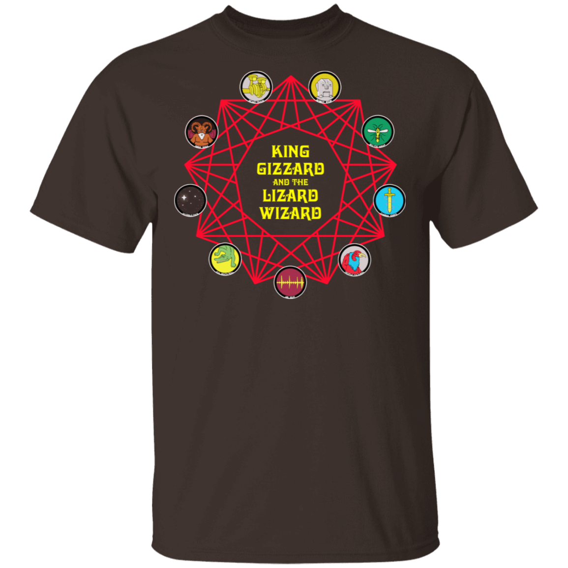 King Gizzard And The Lizard Wizard T-Shirts, Hoodies 1049-9956-85730012-48152 - Tee Ript