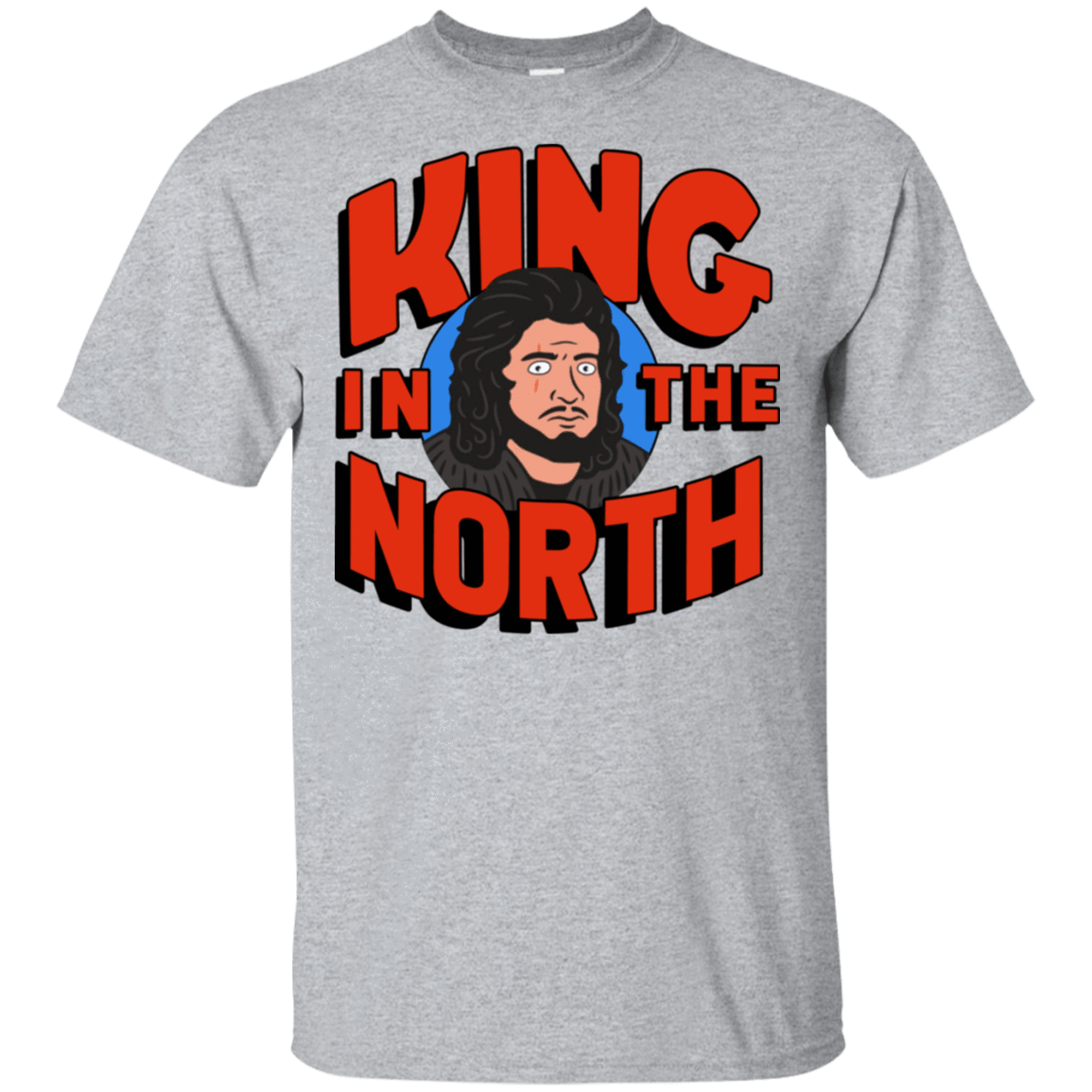 King In The North 22-115-73154811-254 - Tee Ript