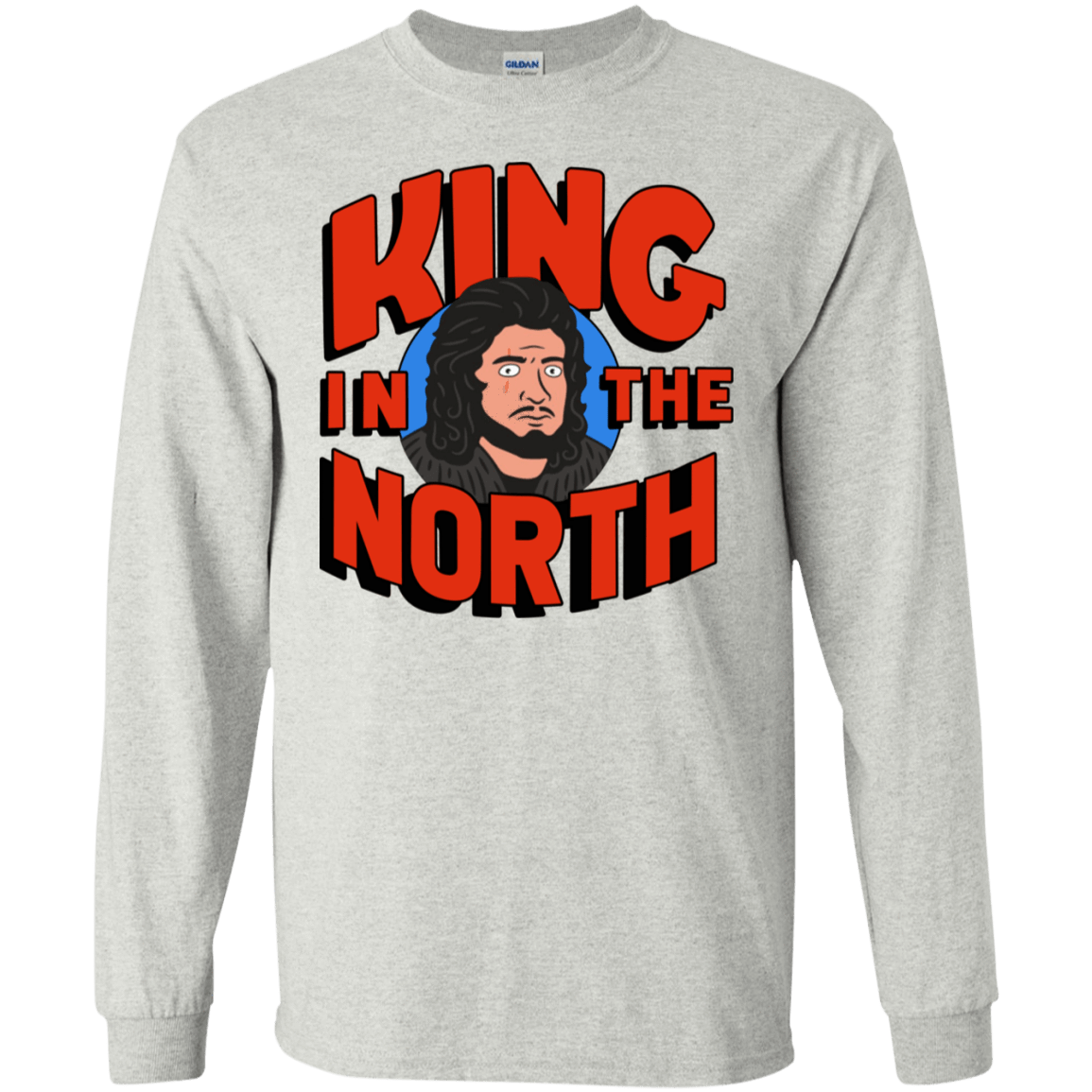 King In The North 30-2112-73154812-10754 - Tee Ript