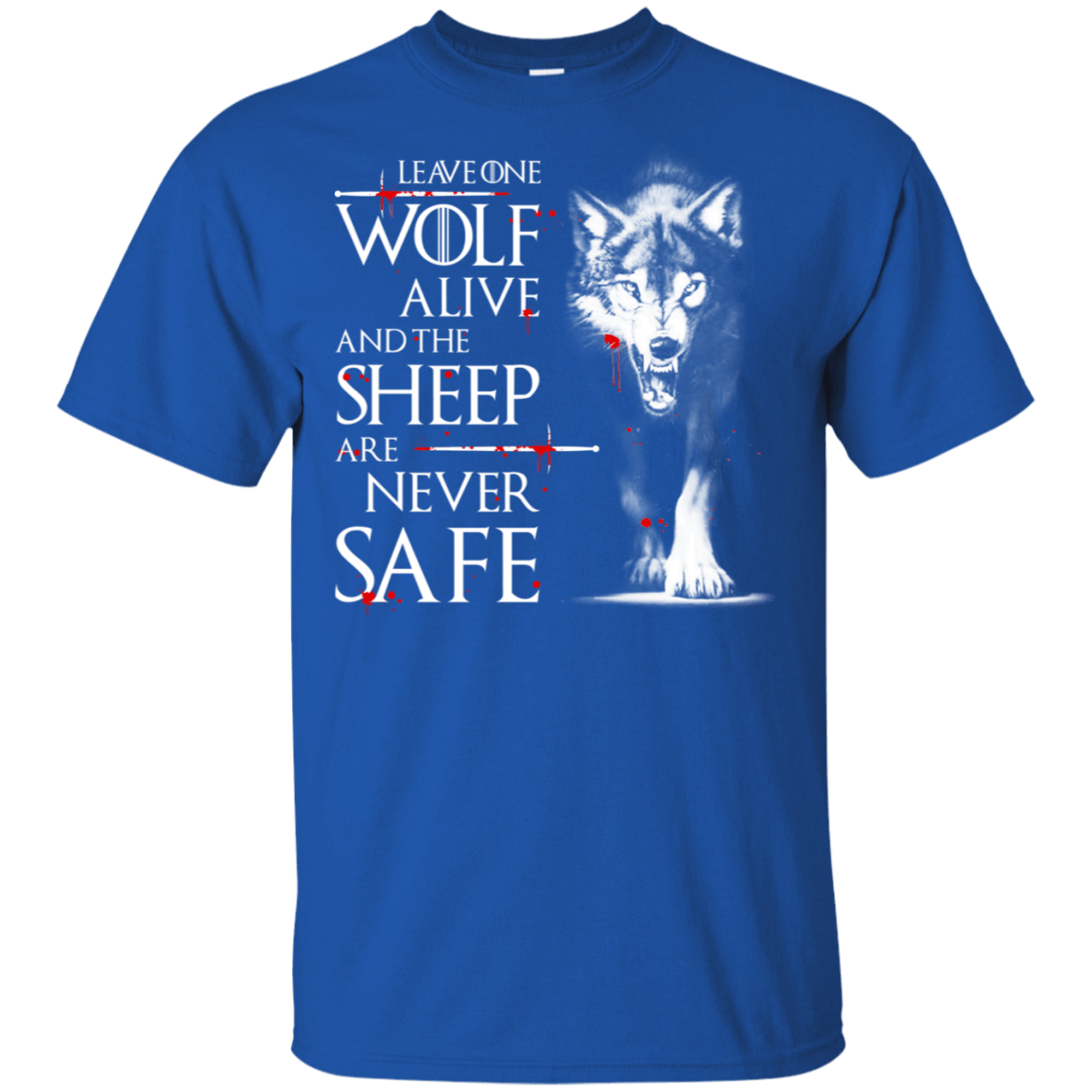 Leave One Wolf Alive And The Sheep Are Never Safe 22-110-73422197-249 - Tee Ript