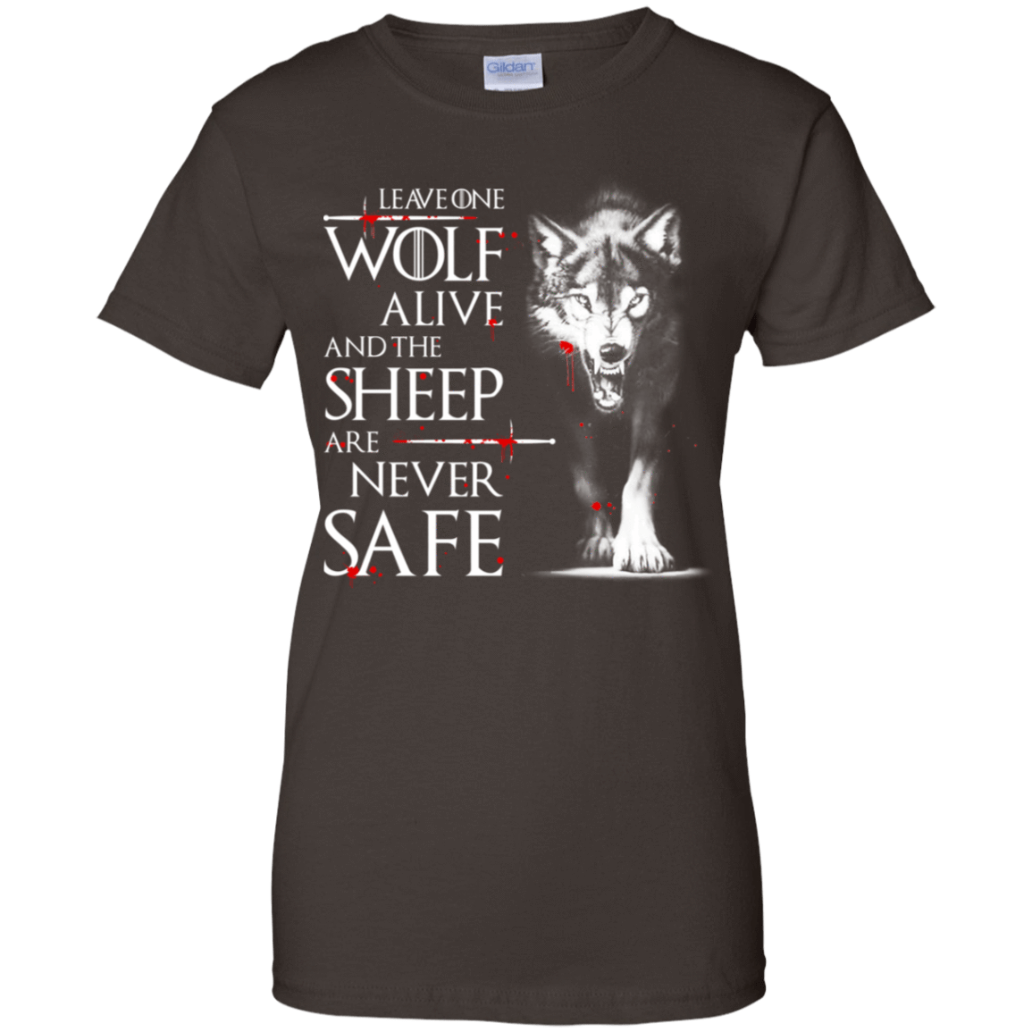 Leave One Wolf Alive And The Sheep Are Never Safe 939-9251-73422201-44702 - Tee Ript