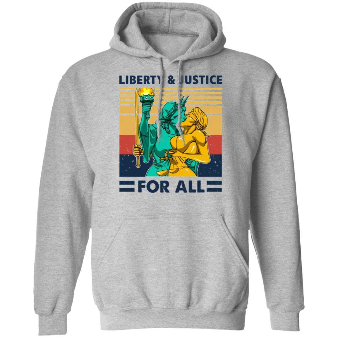 Liberty & Justice For All Vintage T-Shirts, Hoodies 541-4741-88477980-23111 - Tee Ript