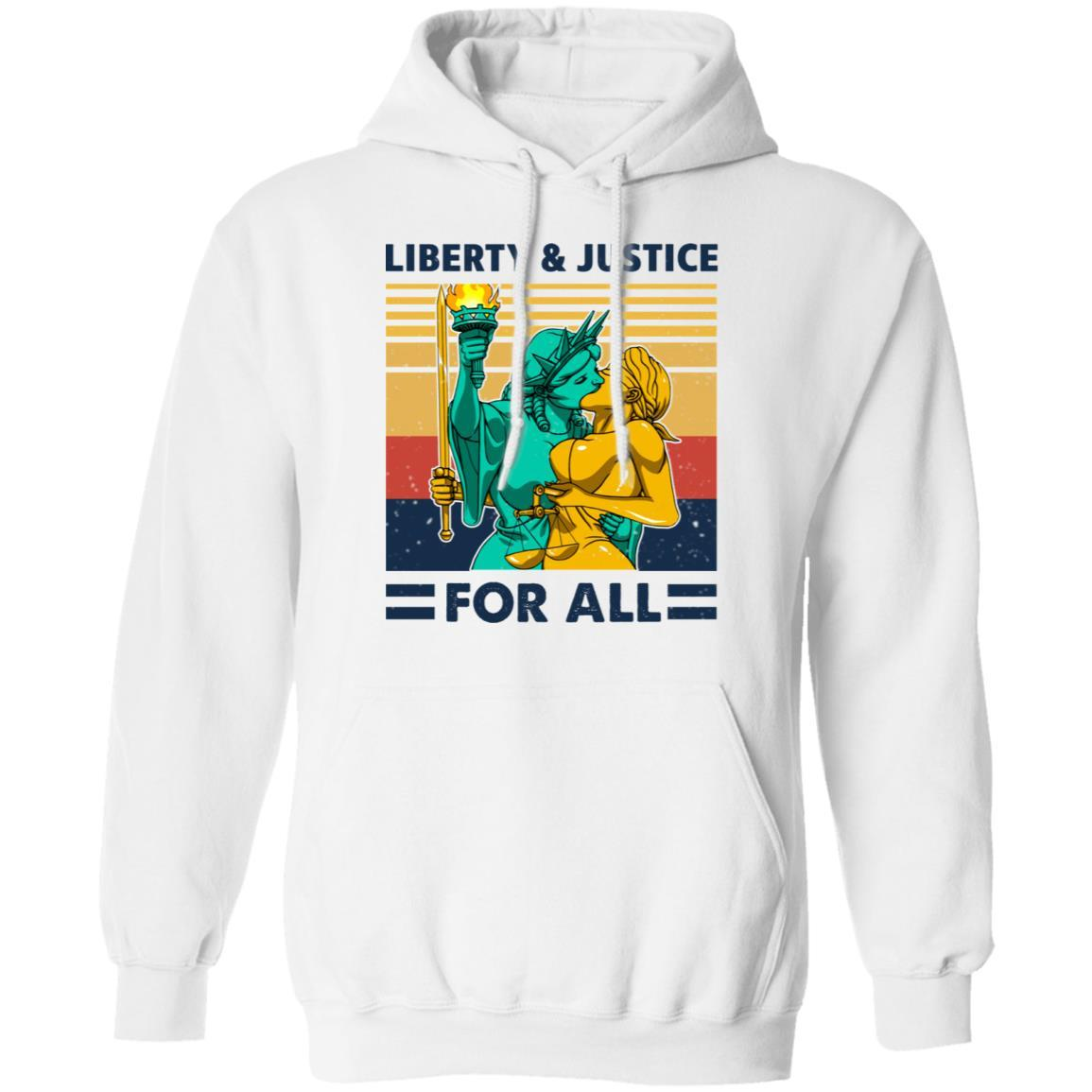 Liberty & Justice For All Vintage T-Shirts, Hoodies 541-4744-88477980-23183 - Tee Ript