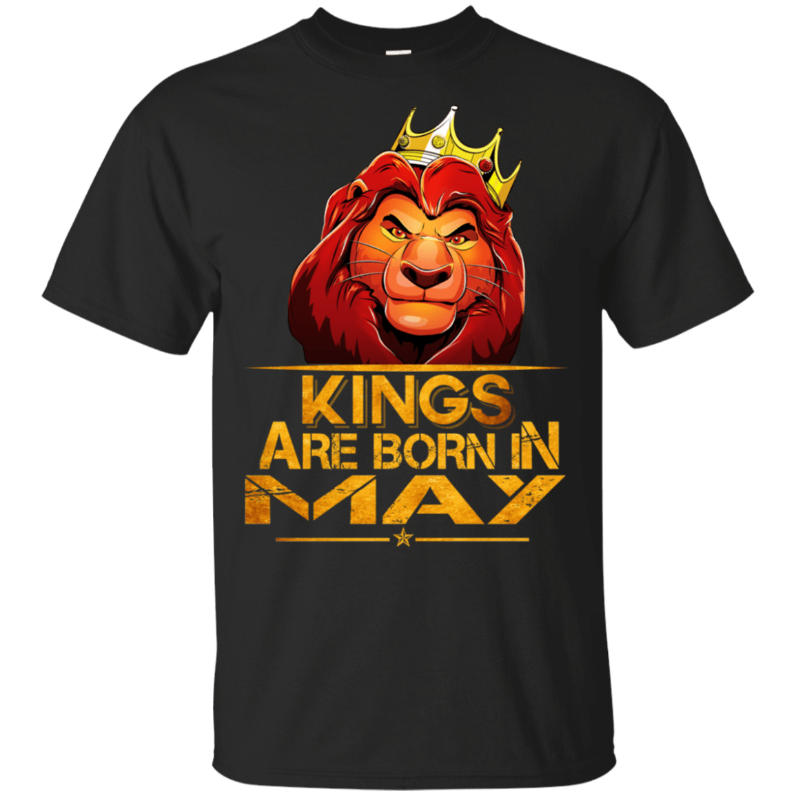 Lion Kings Are Born In May Shirt, Hoodie, Tank 22-113-77860620-252 - Tee Ript