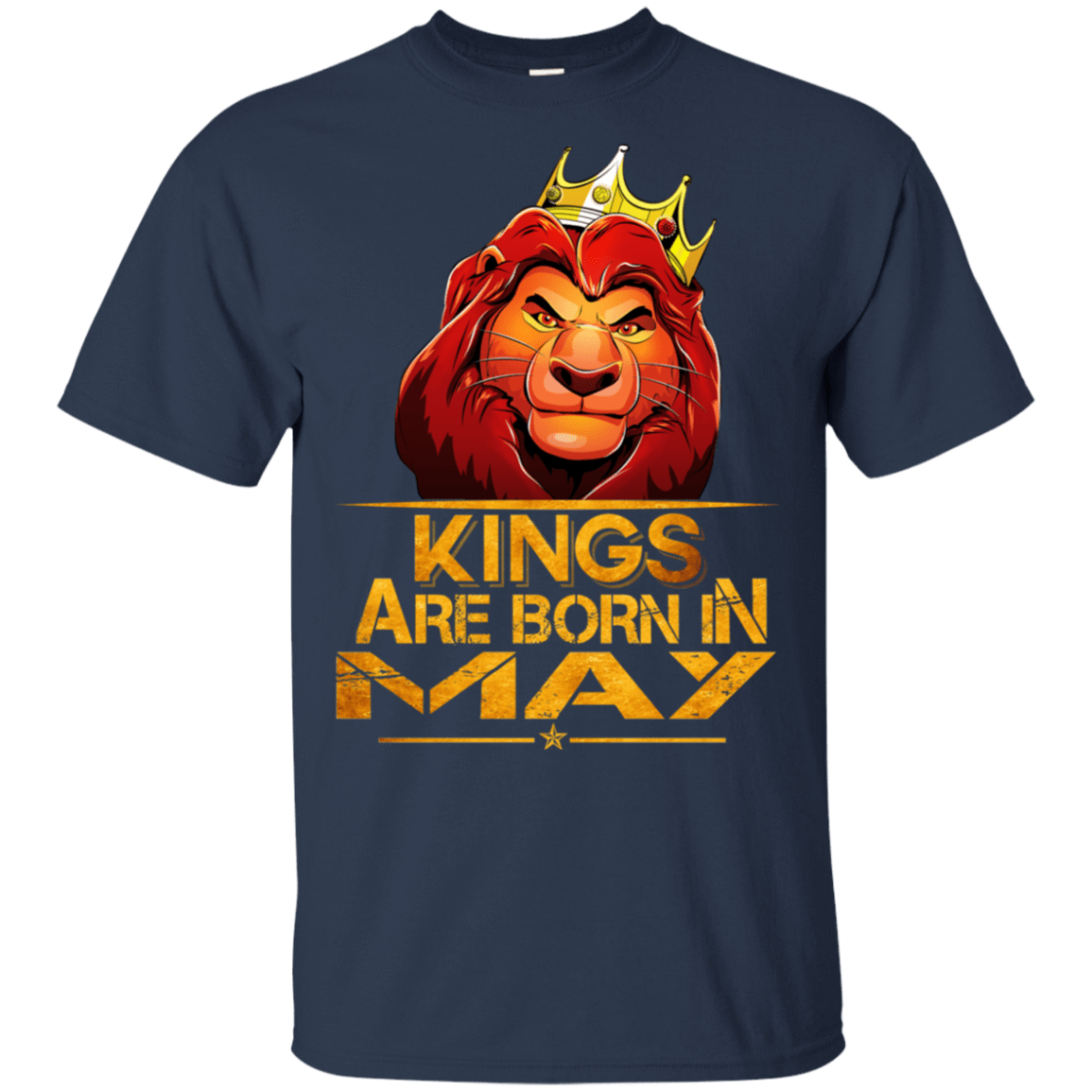 Lion Kings Are Born In May Shirt, Hoodie, Tank 22-111-77860620-250 - Tee Ript