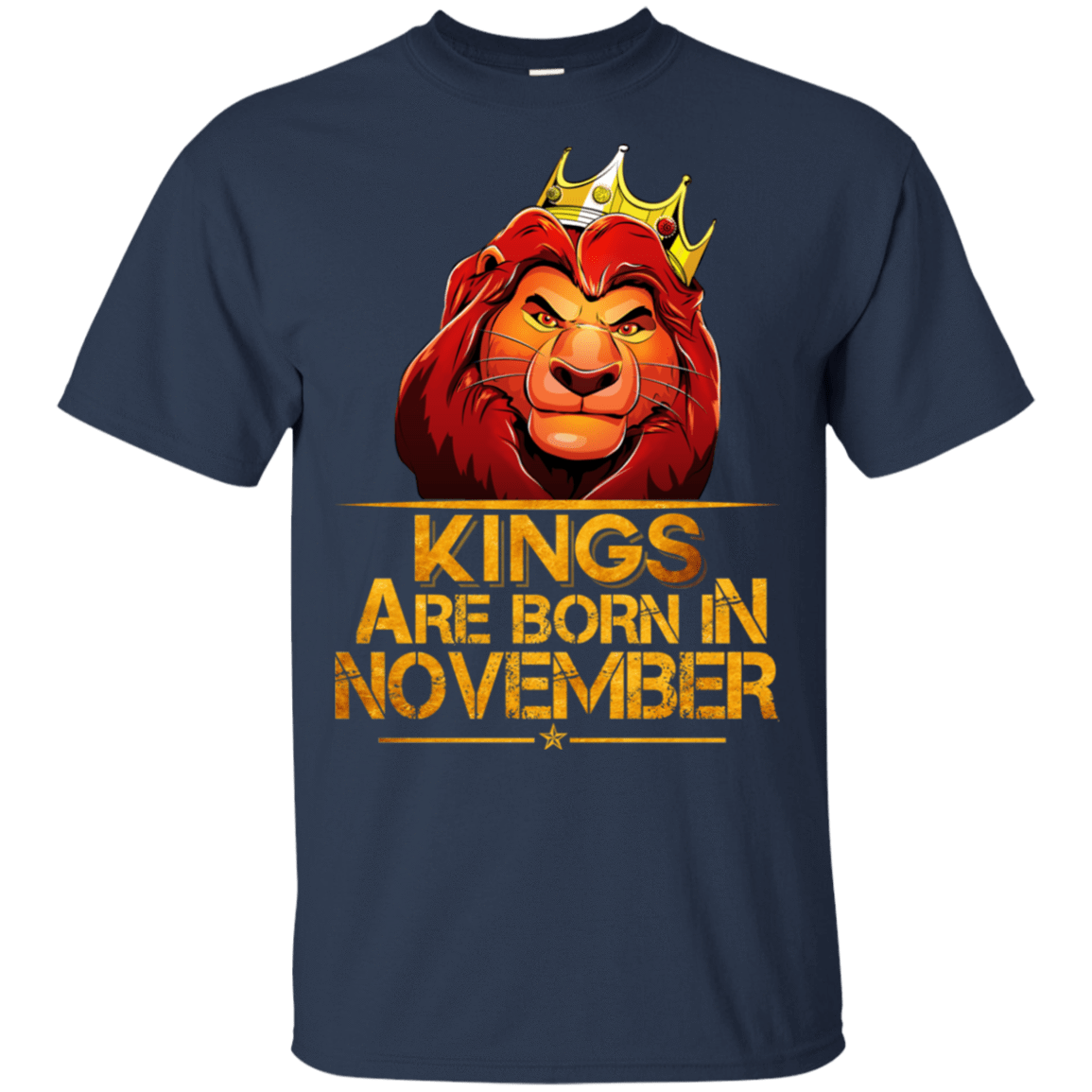 Lion Kings Are Born In November Shirt, Hoodie, Tank 22-111-77860618-250 - Tee Ript