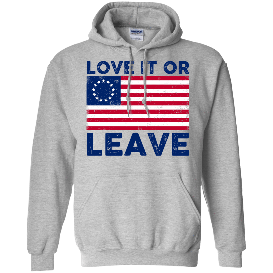 Love It Or Leave Betsy Ross American Flag T-Shirts, Hoodie, Tank 541-4741-78811042-23111 - Tee Ript