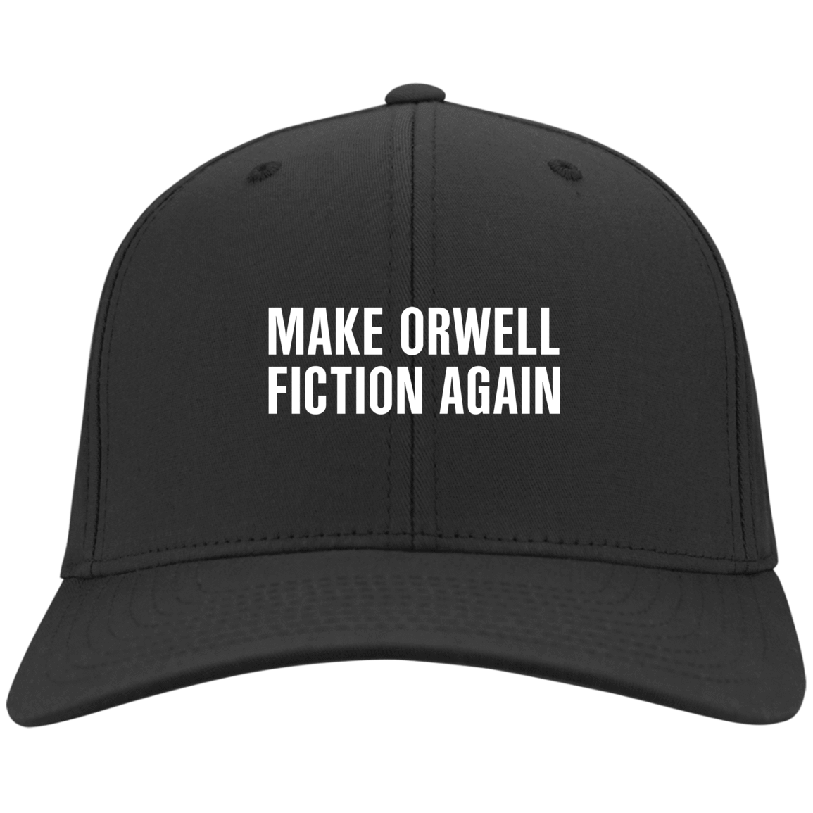 Make Orwell Fiction Again Hat 10-54-74169573-84 - Tee Ript